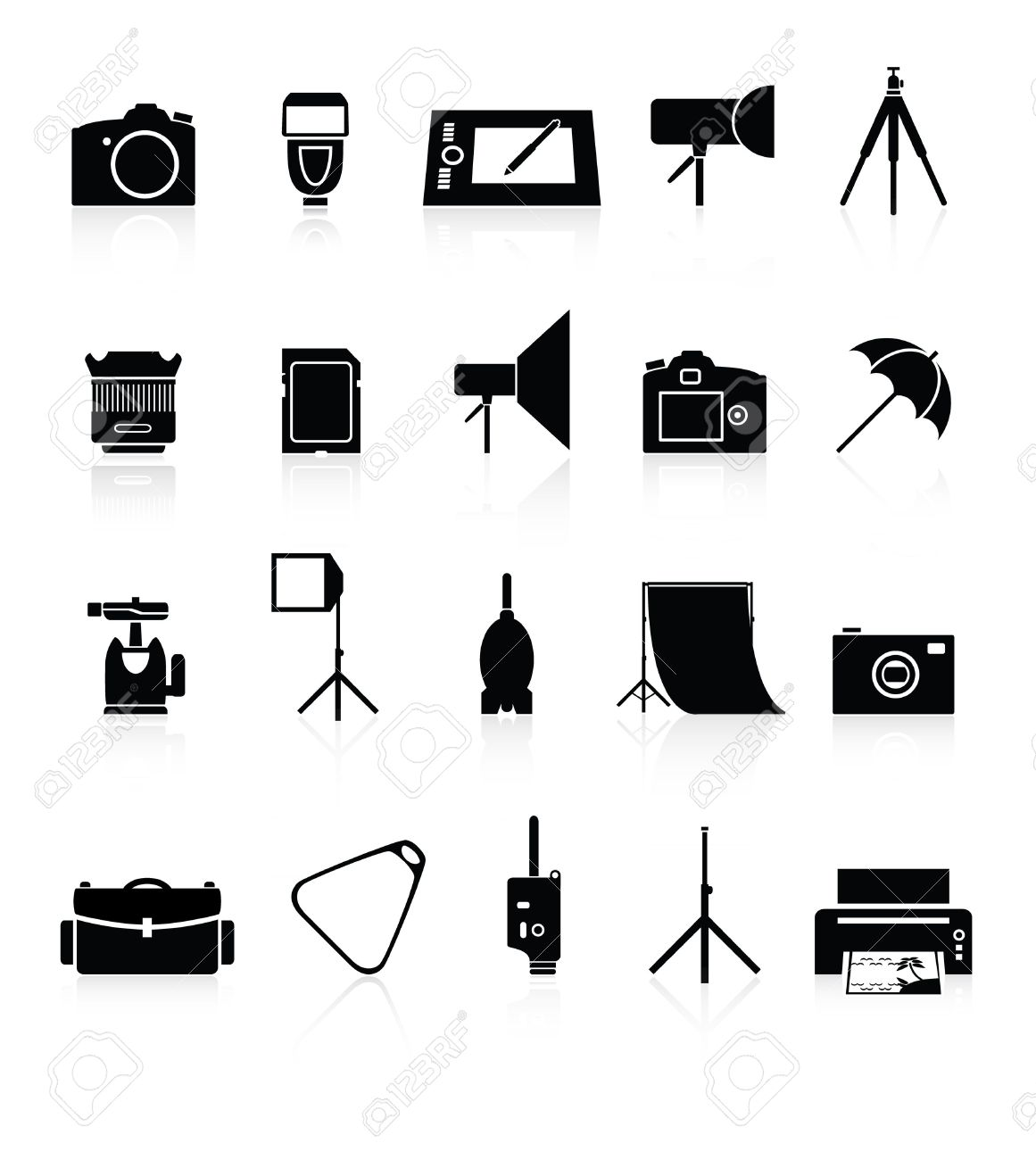 Camera accessories clipart - Clipground for Camera Equipment Clipart  585hul