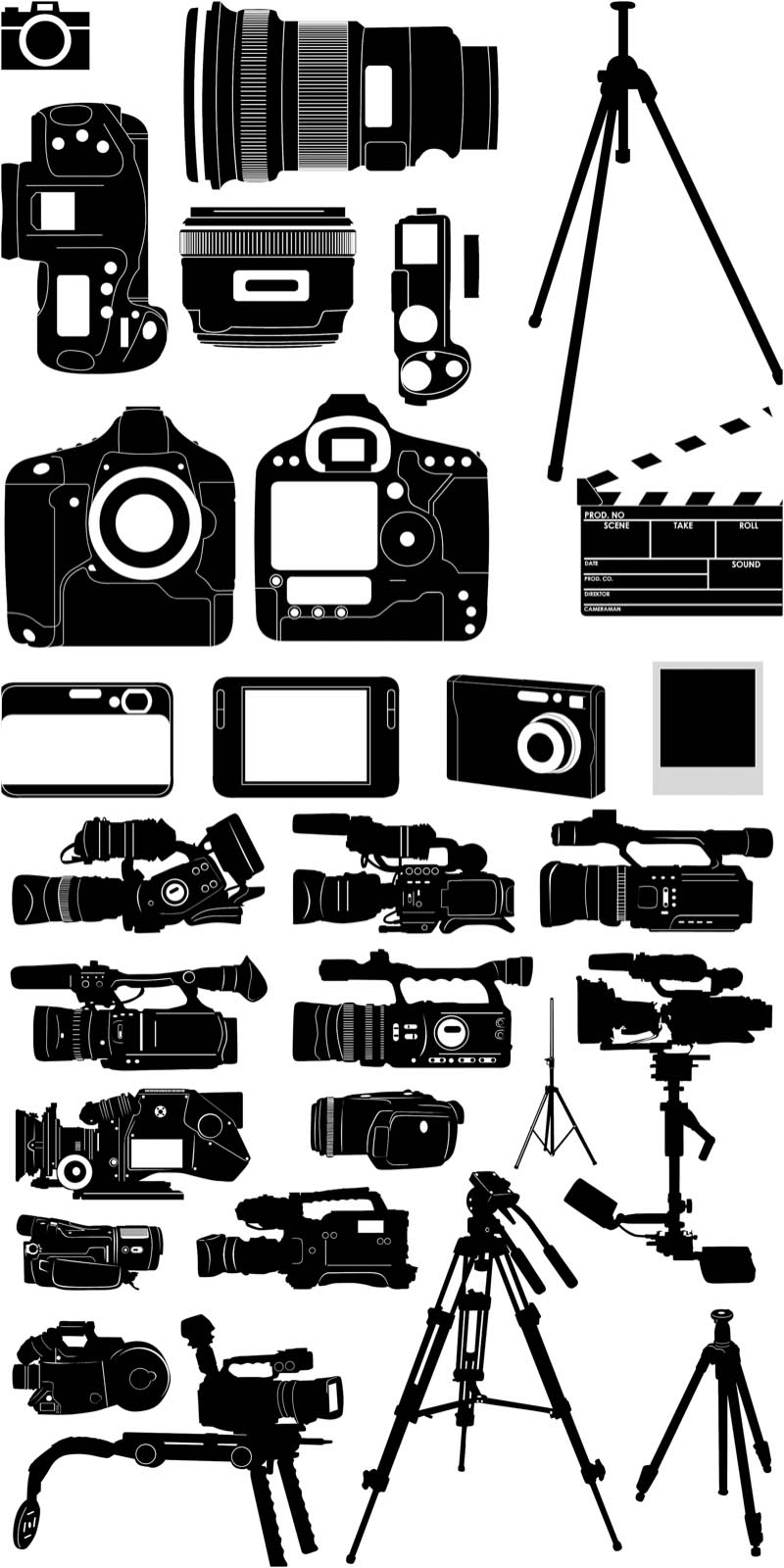 Video Camera Graphic.