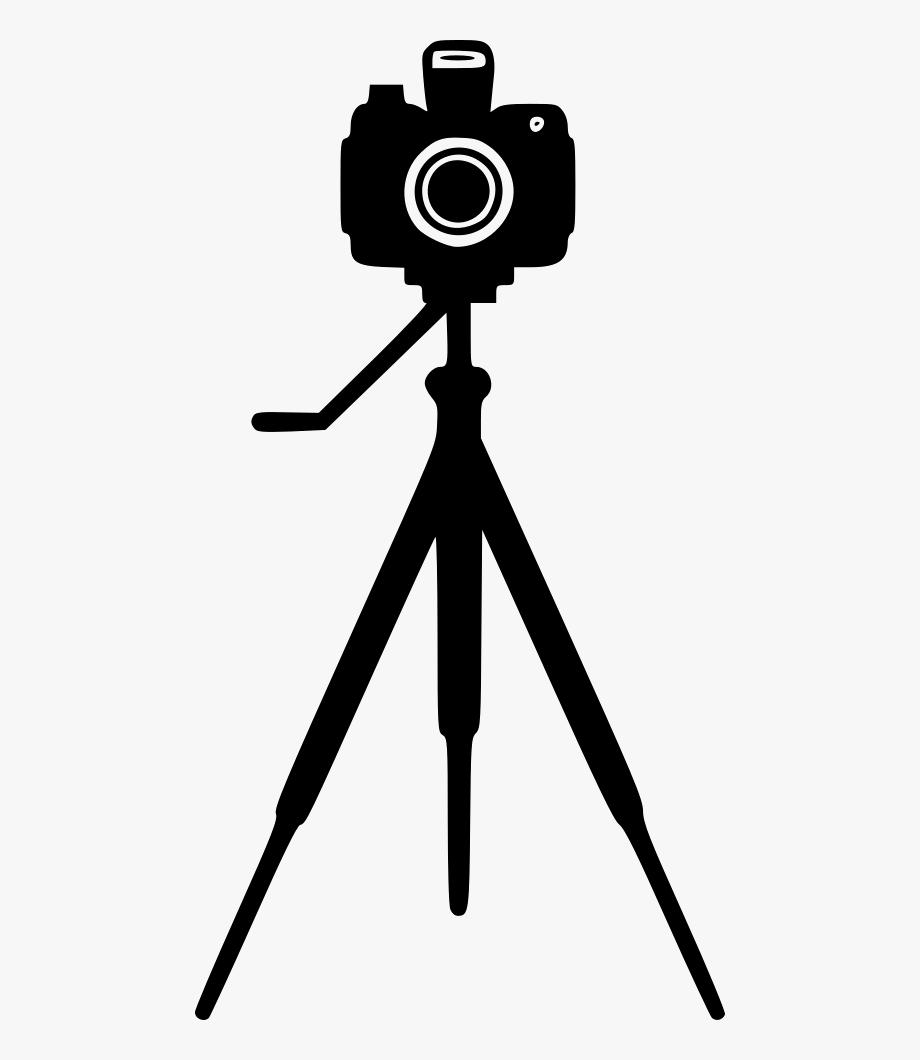 Tripod Camera Photography Clip Art Transprent.