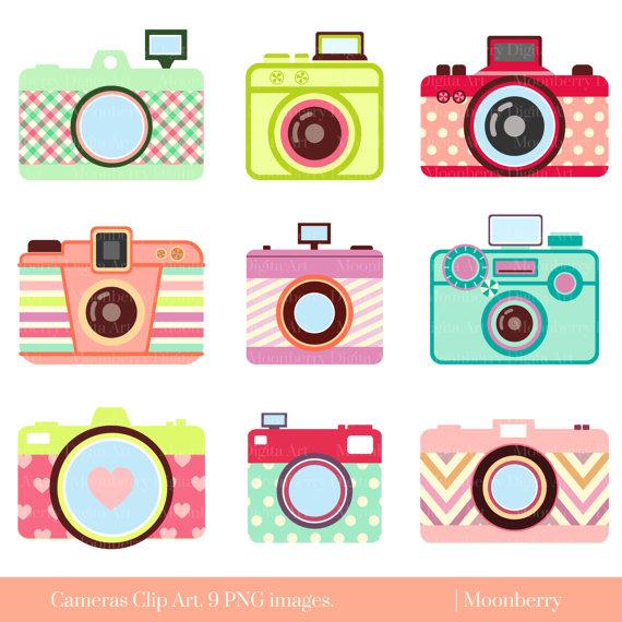 Camera Clipart Cute.