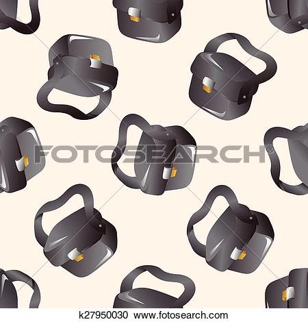 Clipart of camera bag theme elements k27950030.
