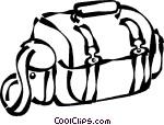 photography bag Vector Clip art.