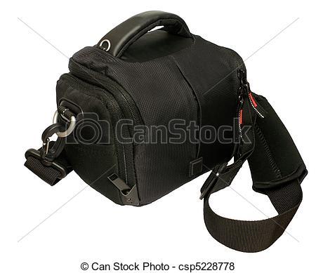 Stock Illustration of Camera bag csp5228778.