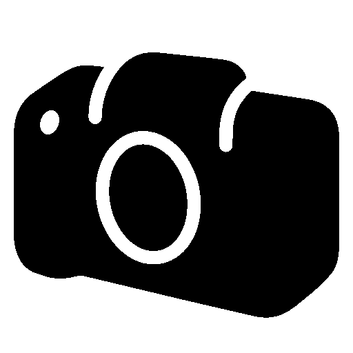 Photo Video Slr Camera Body Filled Icon.