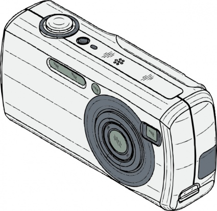 Clipart digital camera.