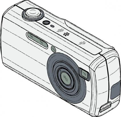 Clipart digital camera.