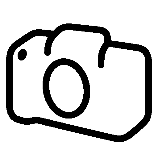 Photo Video Slr Camera Body Icon.