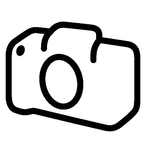 Photo Video Slr Camera Body Icon.