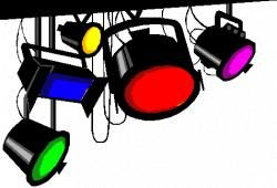 clipart free library Spotlight clipart lights camera action. Page.
