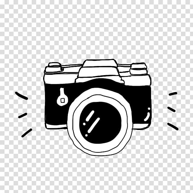 Camera Cartoon Black and white, Black Camera Soda Suta.