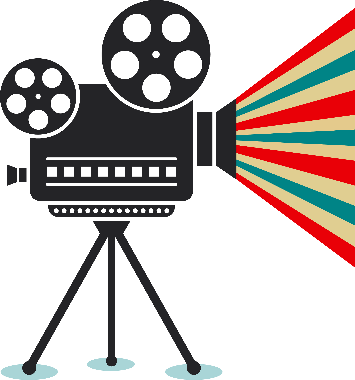Photographic film Cinema Movie projector.