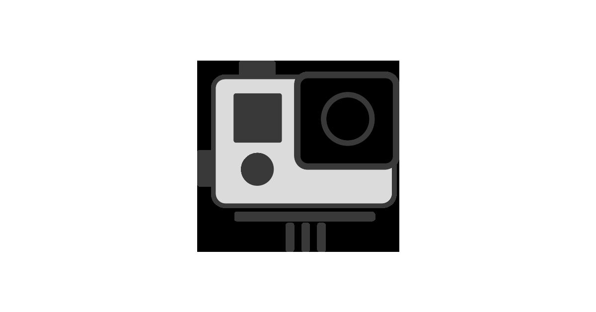 Gopro Cameras Transparent Background.