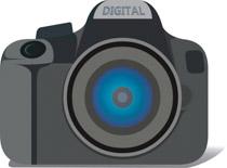 Free Camera Clipart.