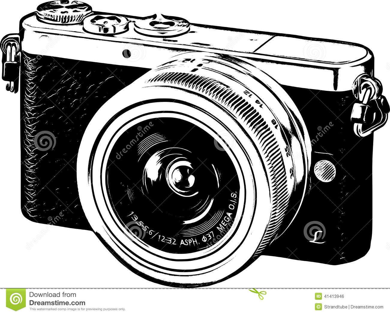 242 Vintage Camera free clipart.