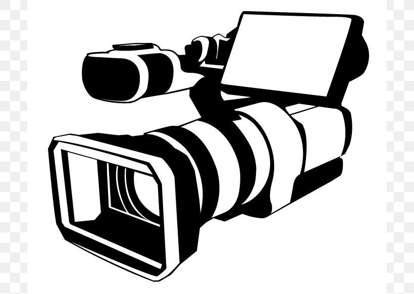 Video Camera Logo Camera Operator Clip Art, PNG, 712x582px.