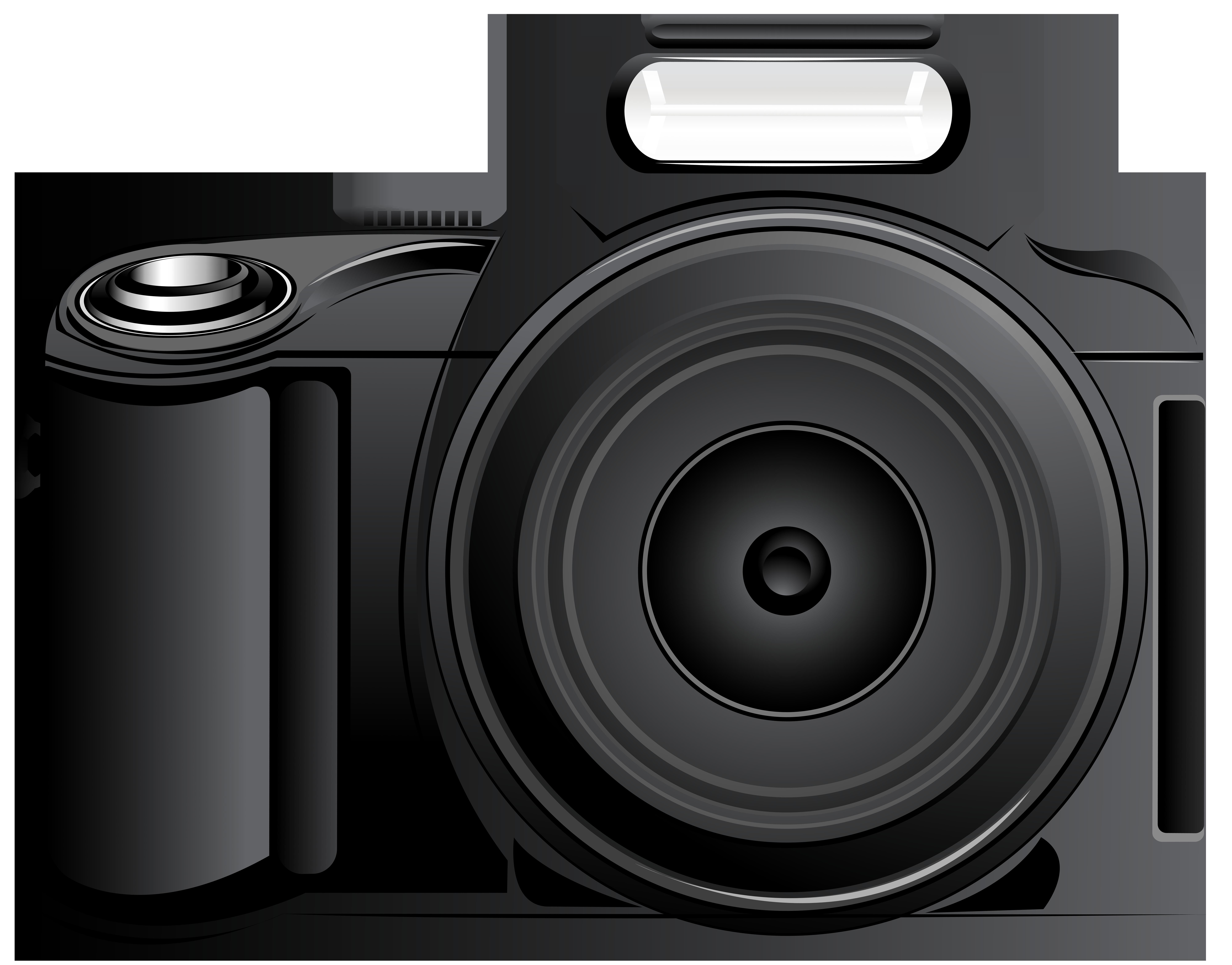 Camera PNG Clip Art Image.