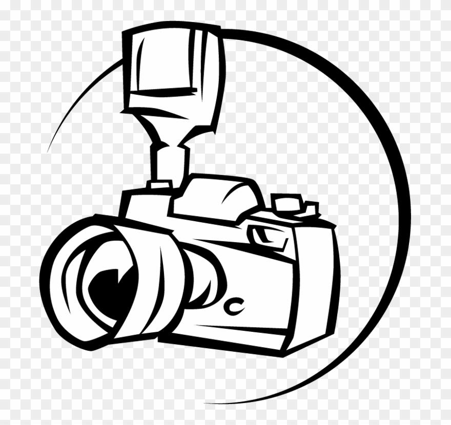 Camera Line Art.