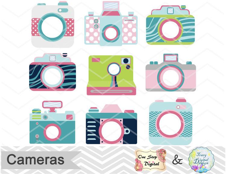 when i call — Digital Cute Camera Clip Art, Camera Clipart,.
