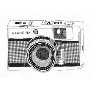 camera drawing.