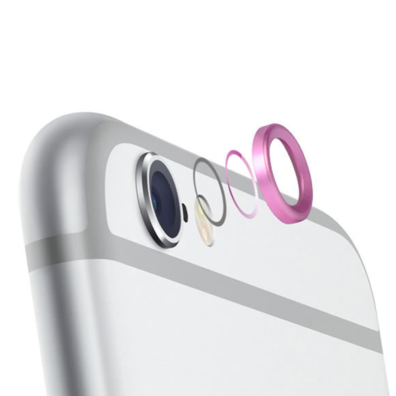 Camera Lens Protective Case Cover Ring Installed For iPhone 6/6.