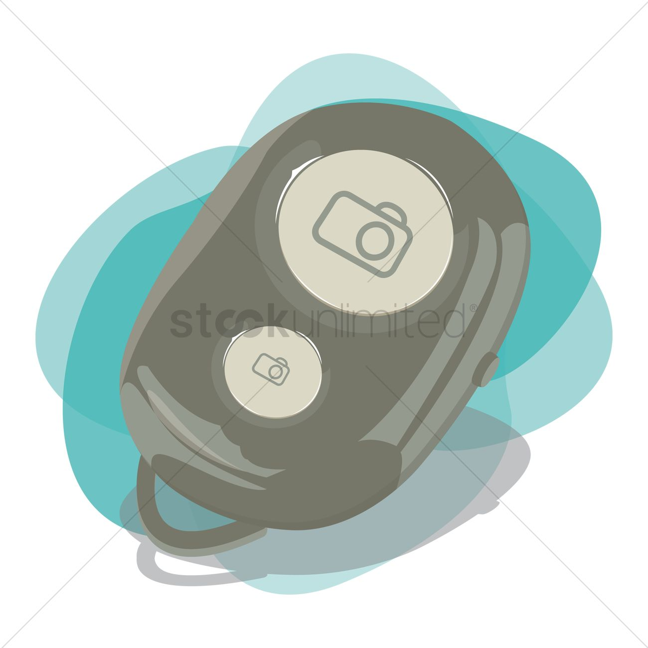 Free Camera pouch Vector Image.