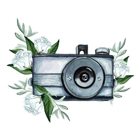 5,744 Vintage Camera Drawing Stock Illustrations, Cliparts And.