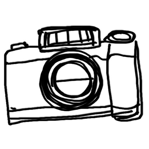 Simple Camera Sketch at PaintingValley.com.