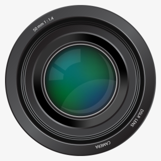 Free Camera Lens Clip Art with No Background.
