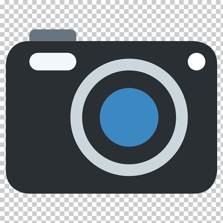 Camera Emoji Photography Android, video camera PNG clipart.