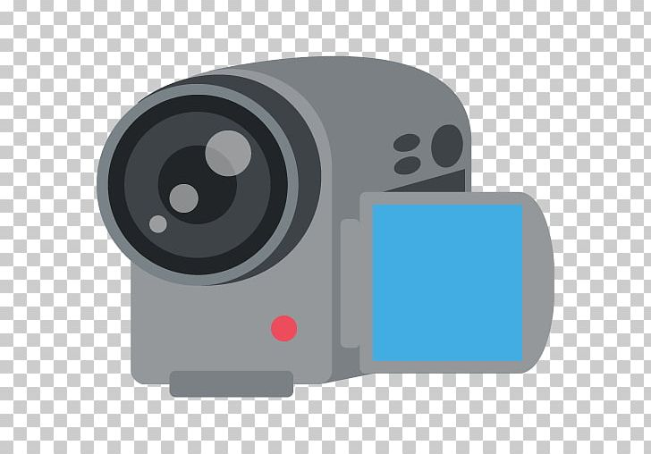 Emoji Video Cameras Photography Photographic Film Movie Camera PNG.