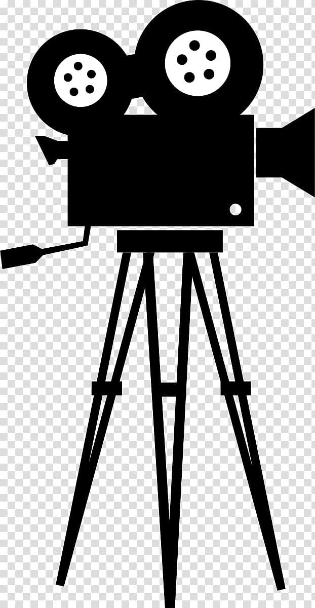 Black video camera , Movie camera Film , Movie Camera transparent.