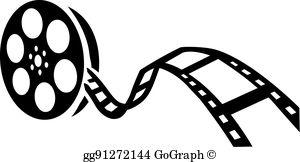 Movie Camera Clip Art.