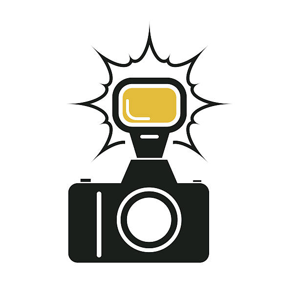 Best Camera Flash Illustrations, Royalty.