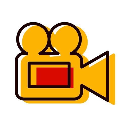 Video Camera Icon Design.