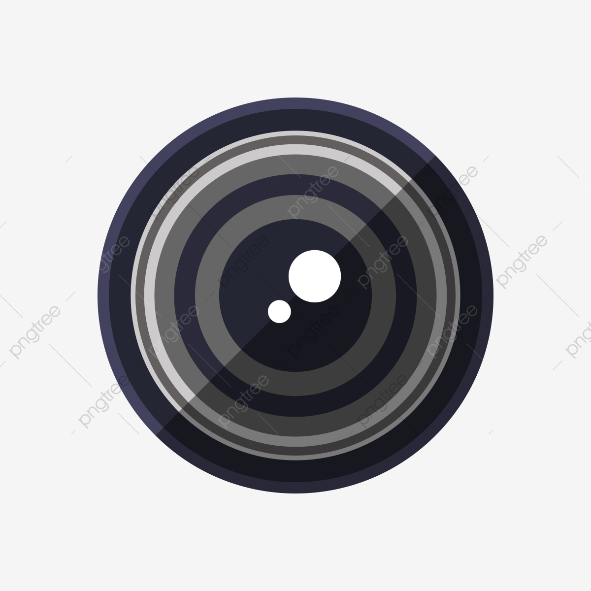Black Camera Lens Clipart, Black, Symbol, Logo PNG and Vector with.