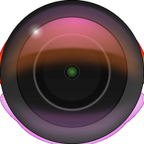 Leftover Bacon Camera Lens clip art Free Vector / 4Vector.