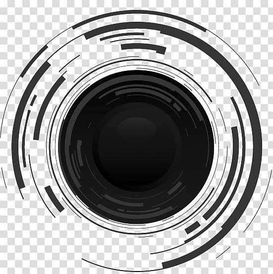 Camera lens icon, Camera lens , SLR camera transparent.