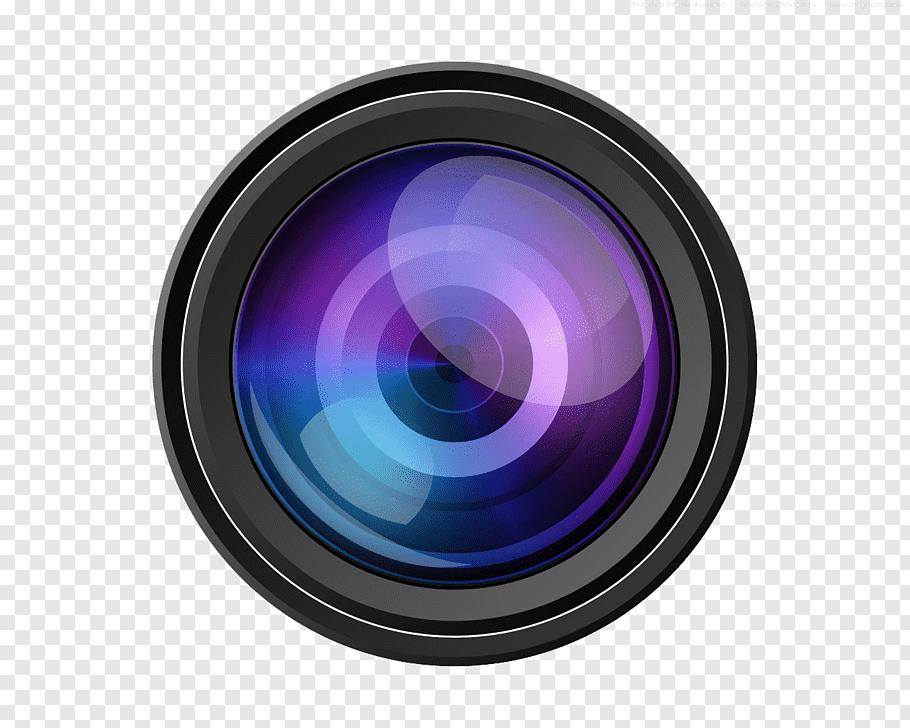 Camera lens logo, Camera lens Icon, Video Camera Lens free.