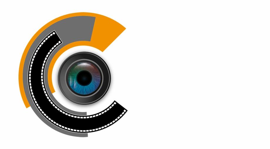 Hera International Film Festival Design Logo Camera Lens.