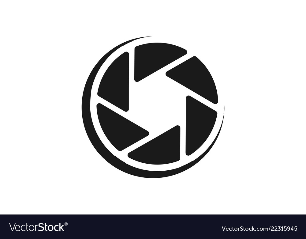 Lens camera icon logo designs inspiration.