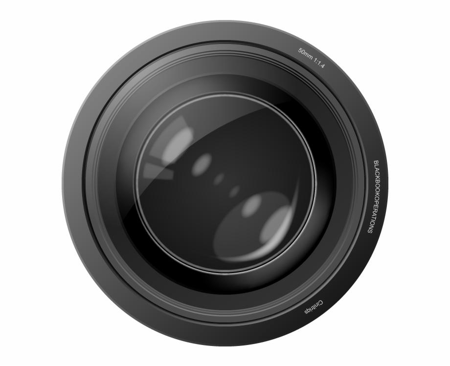 Camera Lens Transparent.