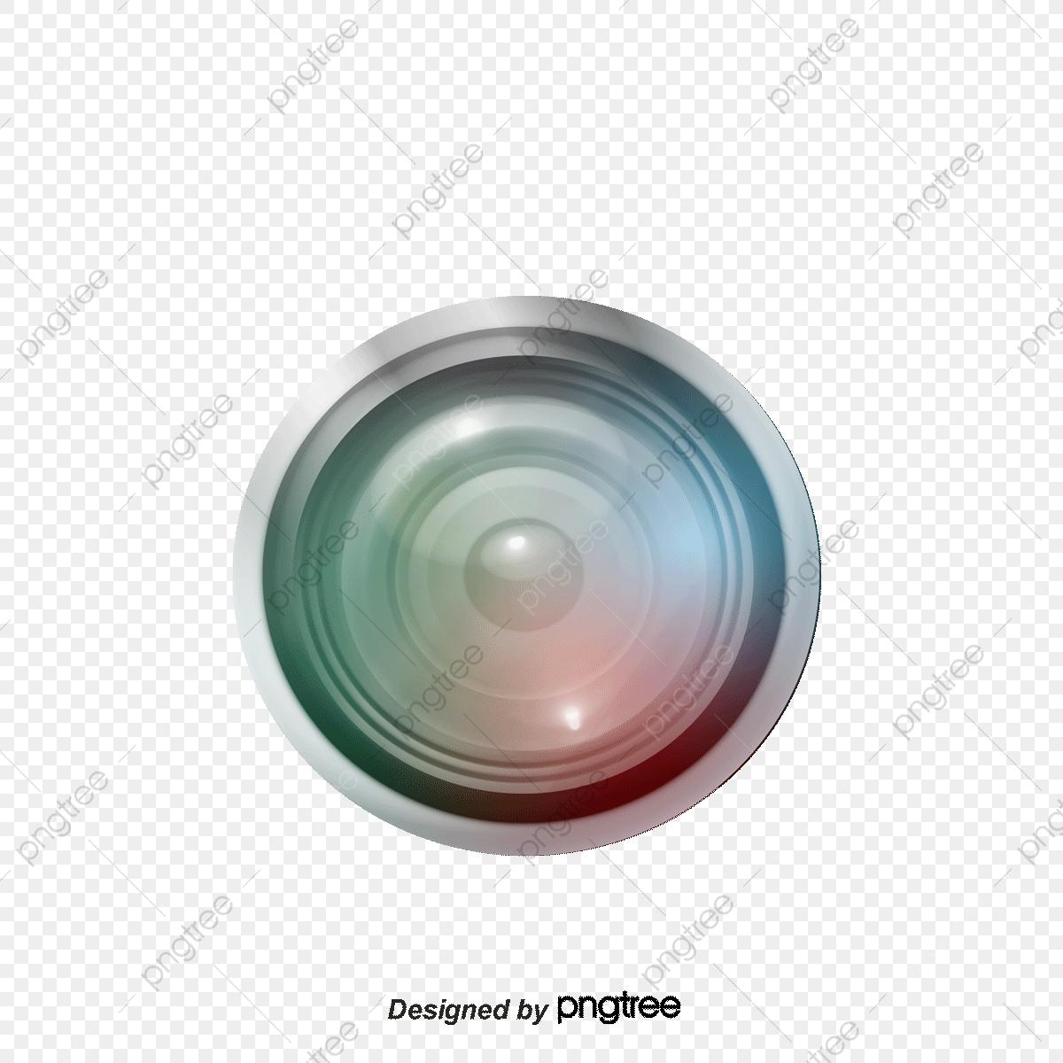 Vector Painted White Camera Lens, Camera Vector, Lens Vector, Camera.
