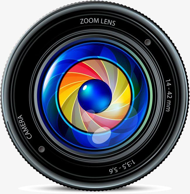 Slr Camera Lens, Vector Material, Camera Lens, Slr Cameras PNG.