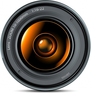 Camera lens vector free vector download (994 Free vector) for.