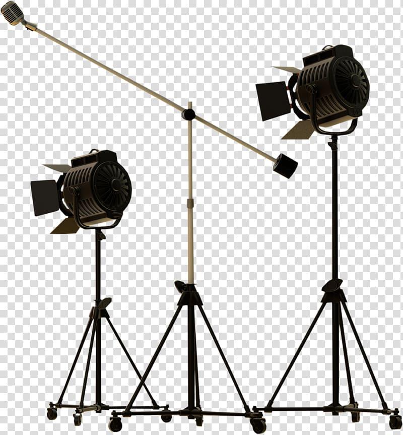 Light Tripod Camera , lighting transparent background PNG.