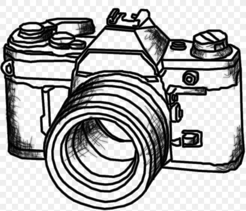 Photographic Film Drawing Photography Line Art Clip Art, PNG.