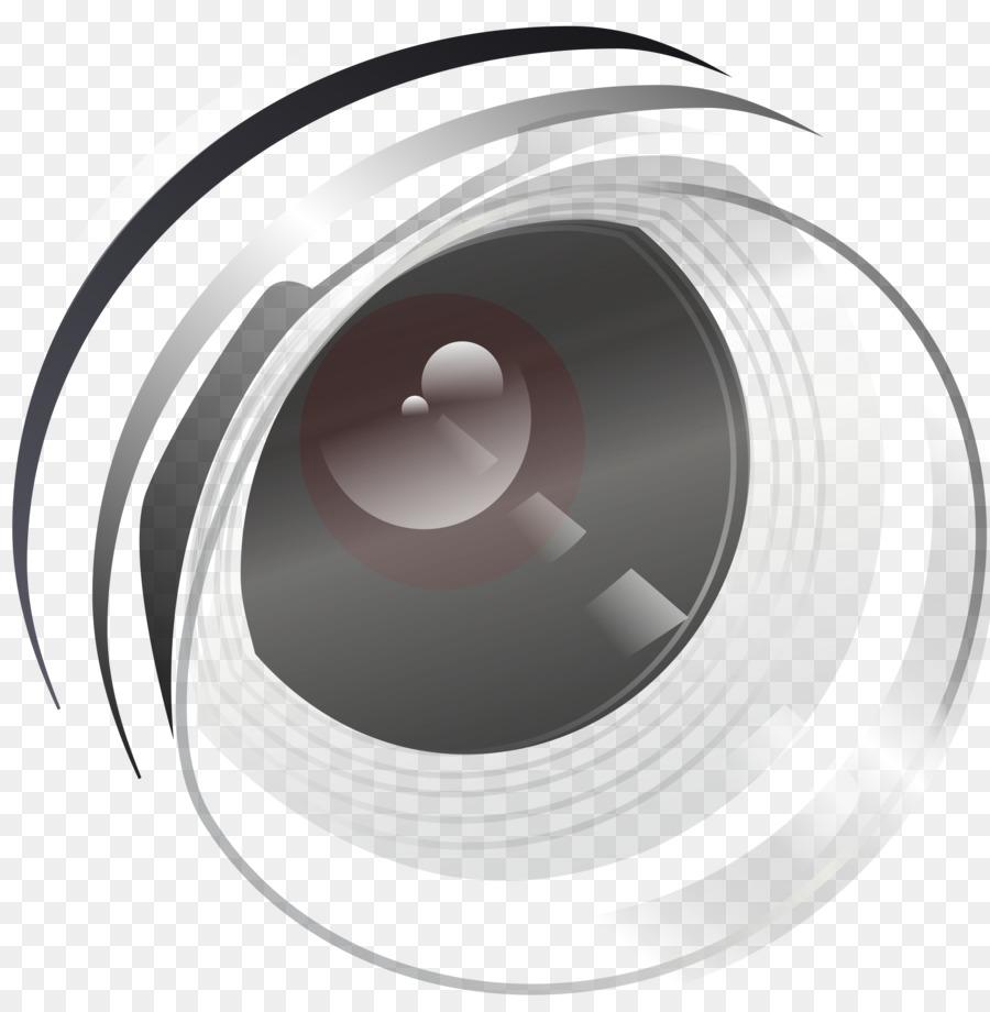 Camera Lens Logo clipart.