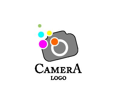 camera colour fashion vector logo inspiration Download.
