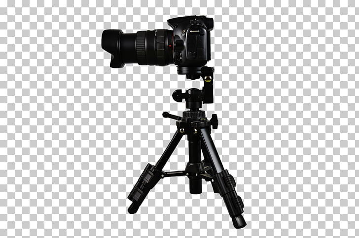 Camera Tripod Silhouette Photography, Fotograf PNG clipart.