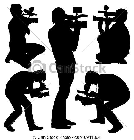 Camera operator Clip Art and Stock Illustrations. 1,268 Camera.